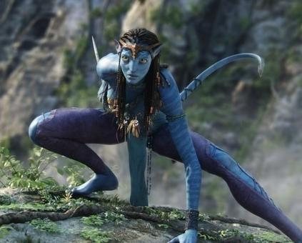 Na'vi character from the film 'Avatar' (20th Century Fox (c) 2009)